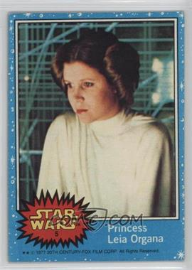 1977 Topps Star Wars - [Base] #5 - Princess Leia Organa