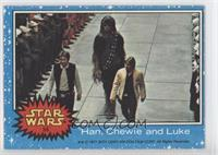 Han, Chewie and Luke