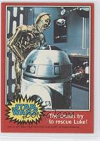 The Droids Try to Rescue Luke!