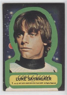 1977 Topps Star Wars - Stickers #1 - Luke Skywalker [Poor to Fair]
