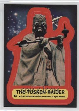 1977 Topps Star Wars - Stickers #14 - The Tusken Raider