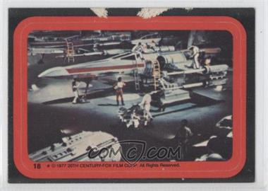 1977 Topps Star Wars - Stickers #18 - X-Wing [Good to VG‑EX]