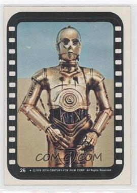 1977 Topps Star Wars - Stickers #26 - See-Threepio
