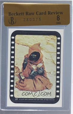 1977 Topps Star Wars - Stickers #27 - Jawa