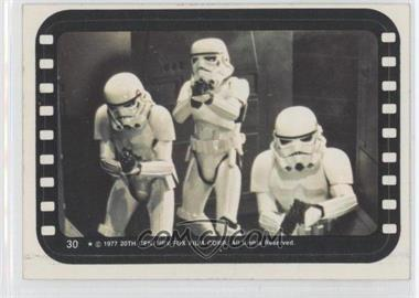 1977 Topps Star Wars - Stickers #30 - Stormtroopers