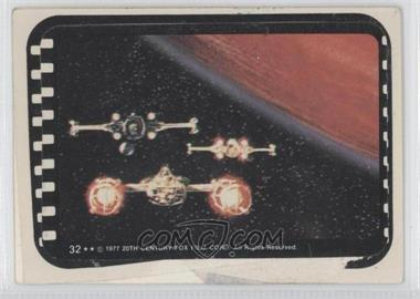1977 Topps Star Wars - Stickers #32 - Y-Wing, X-Wing