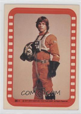 1977 Topps Star Wars - Stickers #36 - Luke Skywalker