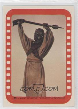 1977 Topps Star Wars - Stickers #39 - Tusken Raider