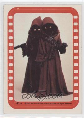 1977 Topps Star Wars - Stickers #41 - Jawa
