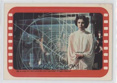 1977 Topps Star Wars - Stickers #44 - Princess Leia