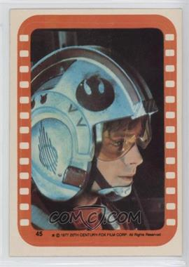 1977 Topps Star Wars - Stickers #45 - Luke Skywalker