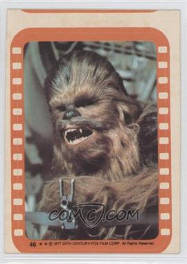 1977 Topps Star Wars - Stickers #46 - Chewbacca [Good to VG‑EX]