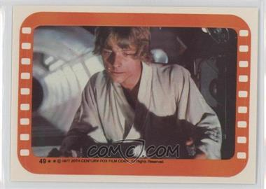 1977 Topps Star Wars - Stickers #49 - Luke Skywalker