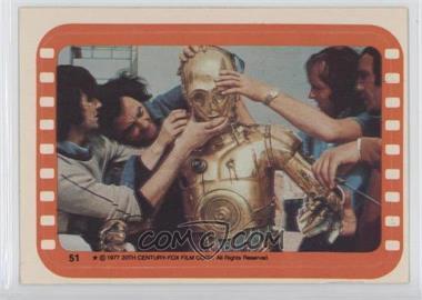 1977 Topps Star Wars - Stickers #51 - See-Threepio