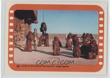 1977 Topps Star Wars - Stickers #52 - Jawa