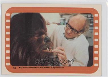 1977 Topps Star Wars - Stickers #55 - Chewbacca
