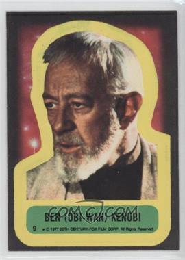 1977 Topps Star Wars - Stickers #9 - Ben (Obi-Wan) Kenobi
