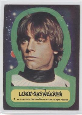 1977 Topps Star Wars Stickers #1 - [Missing]