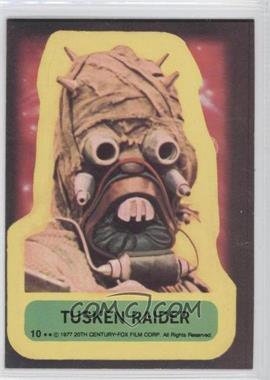 1977 Topps Star Wars Stickers #10 - Tusken Raider