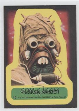 1977 Topps Star Wars Stickers #10 - Tusken Raider