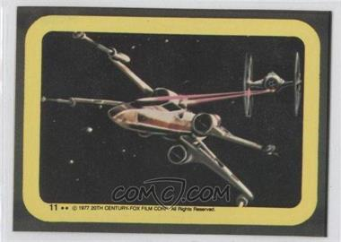 1977 Topps Star Wars Stickers #11 - [Missing]