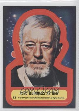 1977 Topps Star Wars Stickers #13 - [Missing]