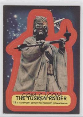 1977 Topps Star Wars Stickers #14 - The Tusken Raider