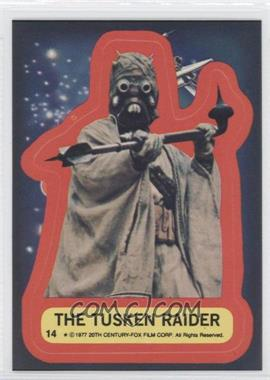 1977 Topps Star Wars Stickers #14 - The Tusken Raider