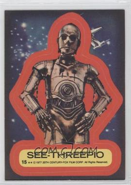 1977 Topps Star Wars Stickers #15 - [Missing]