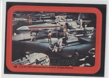 1977 Topps Star Wars Stickers #18 - [Missing]