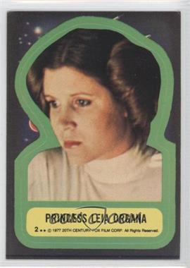 1977 Topps Star Wars Stickers #2 - [Missing]
