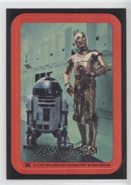 1977 Topps Star Wars Stickers #20 - [Missing]