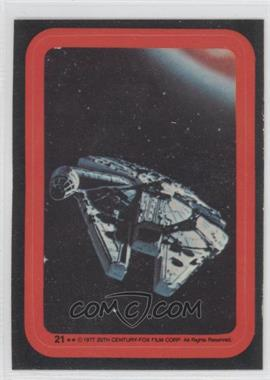 1977 Topps Star Wars Stickers #21 - [Missing]