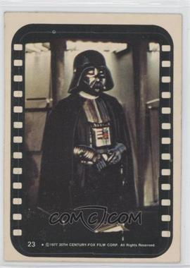 1977 Topps Star Wars Stickers #23 - Lord Darth Vader