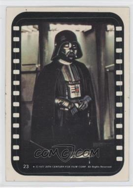 1977 Topps Star Wars Stickers #23 - Lord Darth Vader [Good to VG‑EX]