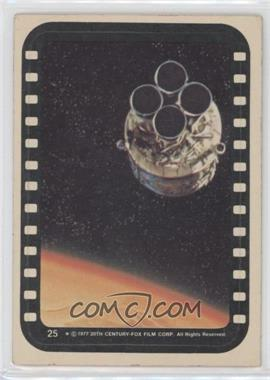 1977 Topps Star Wars Stickers #25 - Escape Pod [Good to VG‑EX]