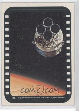 1977 Topps Star Wars Stickers #25 - Escape Pod