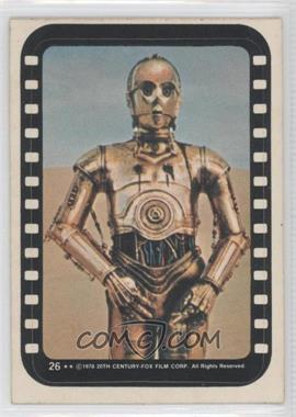 1977 Topps Star Wars Stickers #26 - [Missing]