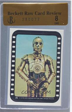 1977 Topps Star Wars Stickers #26 - See-Threepio