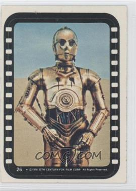 1977 Topps Star Wars Stickers #26 - See-Threepio