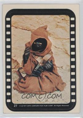 1977 Topps Star Wars Stickers #27 - Jawa
