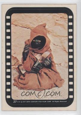 1977 Topps Star Wars Stickers #27 - Jawa