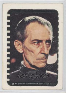 1977 Topps Star Wars Stickers #28 - Grand Moff Tarkin [Poor to Fair]
