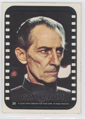 1977 Topps Star Wars Stickers #28 - Grand Moff Tarkin