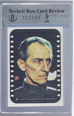 1977 Topps Star Wars Stickers #28 - Grand Moff Tarkin