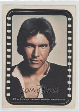 1977 Topps Star Wars Stickers #29 - Han Solo [GoodtoVG‑EX]