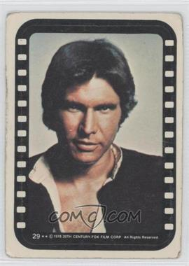 1977 Topps Star Wars Stickers #29 - Han Solo [Good to VG‑EX]
