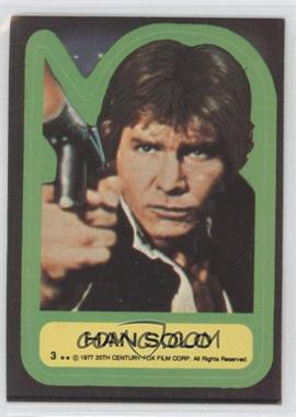 1977 Topps Star Wars Stickers #3 - [Missing]