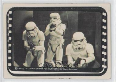 1977 Topps Star Wars Stickers #30 - [Missing]