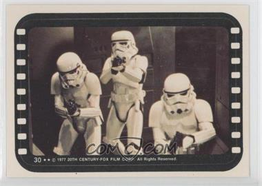 1977 Topps Star Wars Stickers #30 - Stormtroopers